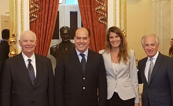 Julio Borges: expusimos en el Congreso de EEUU el Golpe de Estado en Venezuela y represión a manifestantes