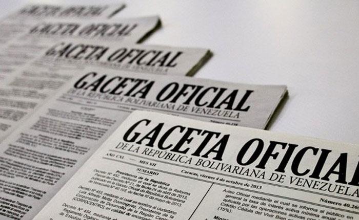 """En Gaceta Oficial: Ejecutivo podrá adoptar """"medidas excepcionales"""" para garantizar orden interno"""
