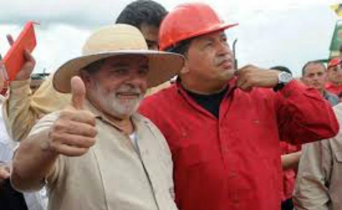 Lula-Chavez-Odebrecht