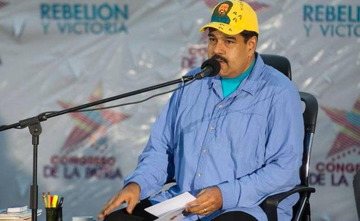 Maduro anuncia que las Fanb estarán en las calles desde este lunes