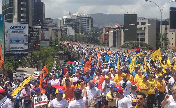 Desde 20 puntos saldrá la marcha del silencio del sábado #22Abr hacia la CEV