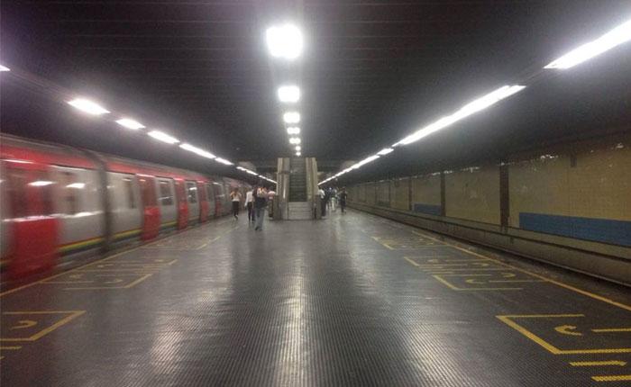 Cerradas 30 estaciones del Metro de Caracas este lunes