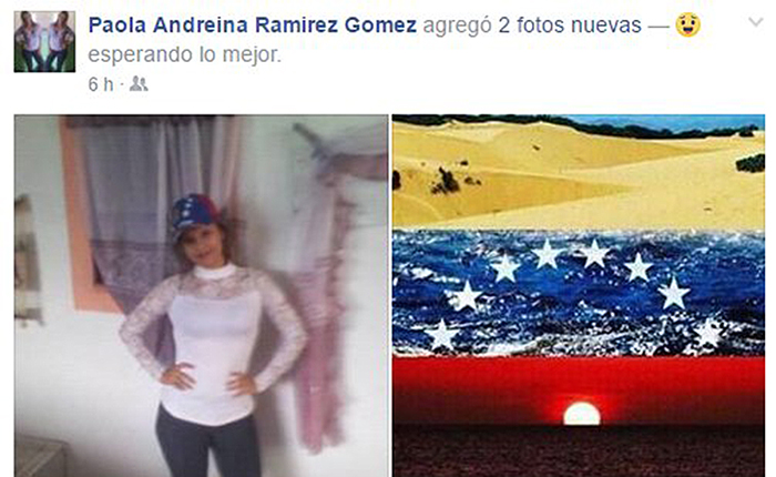 Colectivos robaron, persiguieron y le dispararon a Paola Ramírez