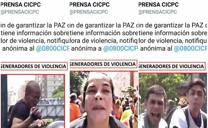 En Venezuela, hasta la policía judicial usa las redes sociales para acosar a quienes protestan contra el gobierno