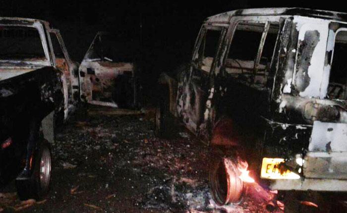 AUDIO  Destrozos y saqueos se vivieron ayer en diferentes sectores de Barinas