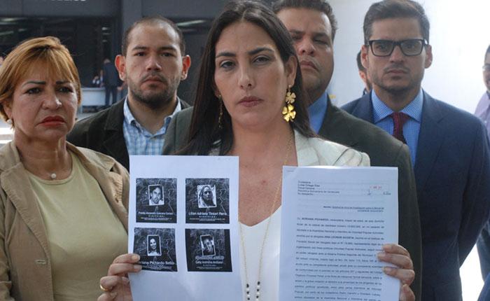 Diputados de VP exigen en Fiscalía investigar responsables de la represión contra el pueblo