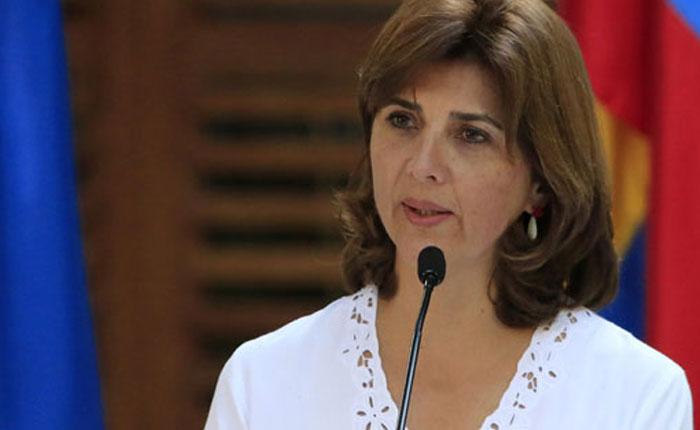 María Ángela Holguín: Diálogo en Venezuela se logrará si hay elecciones