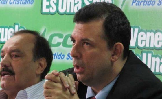 El mensaje de Roberto Enríquez a la militancia y dirigencia de Copei tras sentencia del TSJ