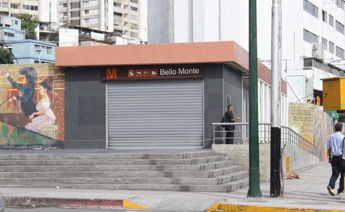 Metro de Caracas cerró ocho estaciones y suspendió el BusCCS