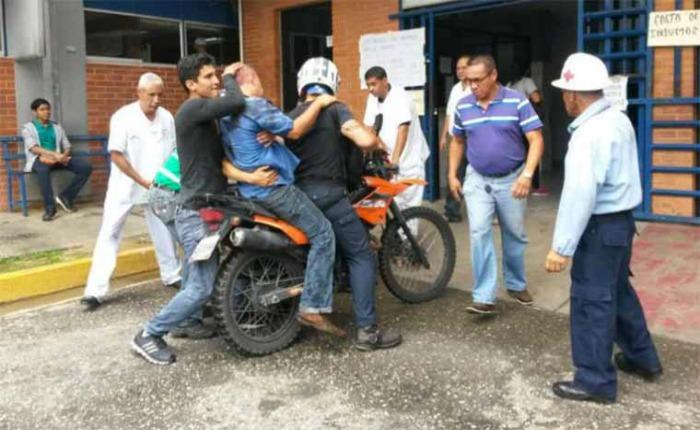 Arrollaron a tres manifestantes durante Gran Plantón en Cabudare este #15May