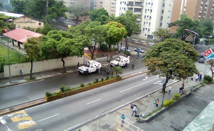 Reprimieron y amedrentaron en La Urbina, El Llanito y El Paraíso durante el Trancazo #2May