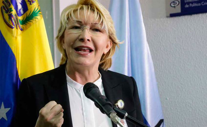 Ortega Díaz pide al TSJ en el exilio antejuicio y orden de captura contra Maduro