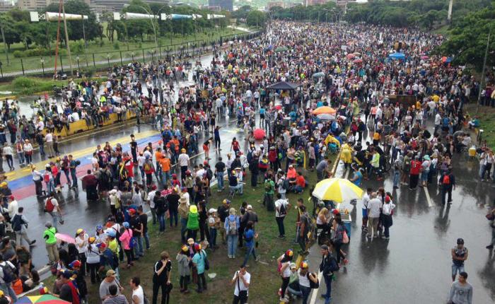 """Reportan represión durante """"Gran Plantón"""" en varios estados del país"""