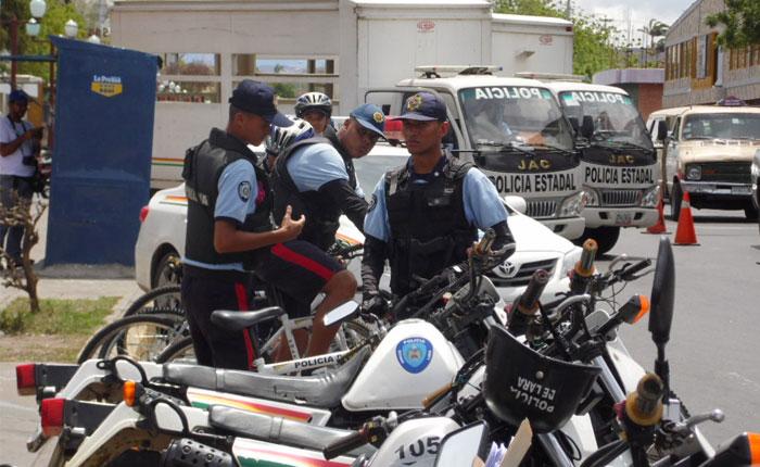Intervienen Policía del estado Lara