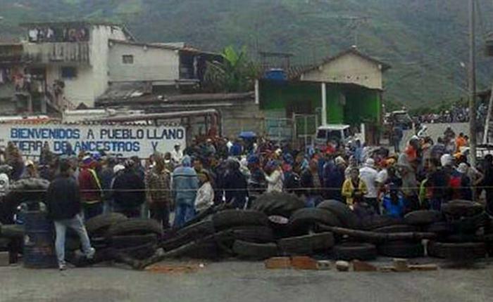 Pueblos del occidente del país protestaron y fueron reprimidos