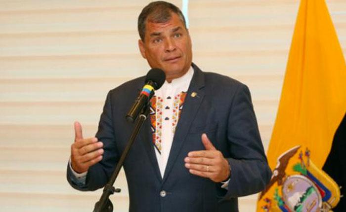 Rafael Correa: La situación de Venezuela puede resolverse con elecciones