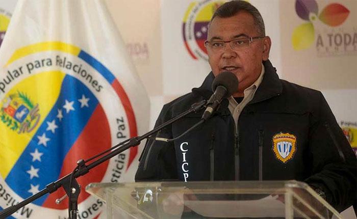 Ministro Reverol admite que la GNB mató a Fabián Urbina