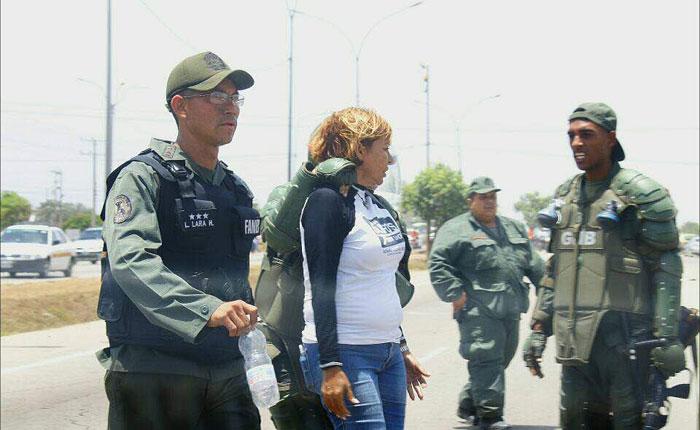 GNB detuvo por cuatro horas a la diputada Yanet Fermín en Margarita