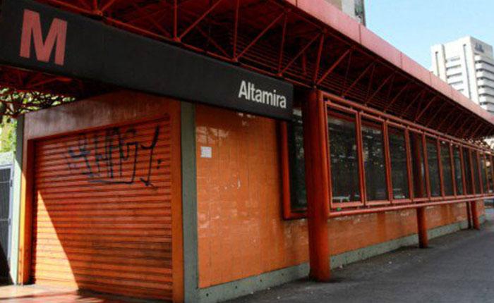 Cerraron siete estaciones de la línea 1 del sistema Metro de Caracas