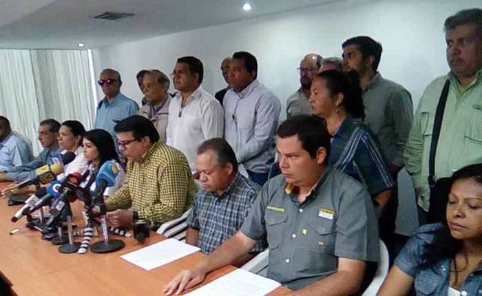 MUD firmó comunicado conjunto en rechazo a la Constituyente