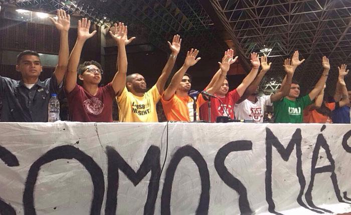 Movimiento estudiantil anunció marcha para VTV este viernes