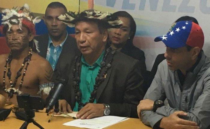 Liborio Guarulla afirmó que su inhabilitación es un caso racial
