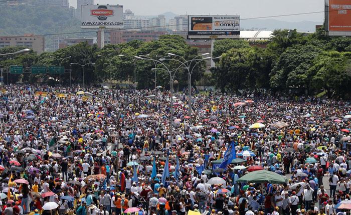 Oposición convocó a marcha hasta el CNE para este lunes #19Jun