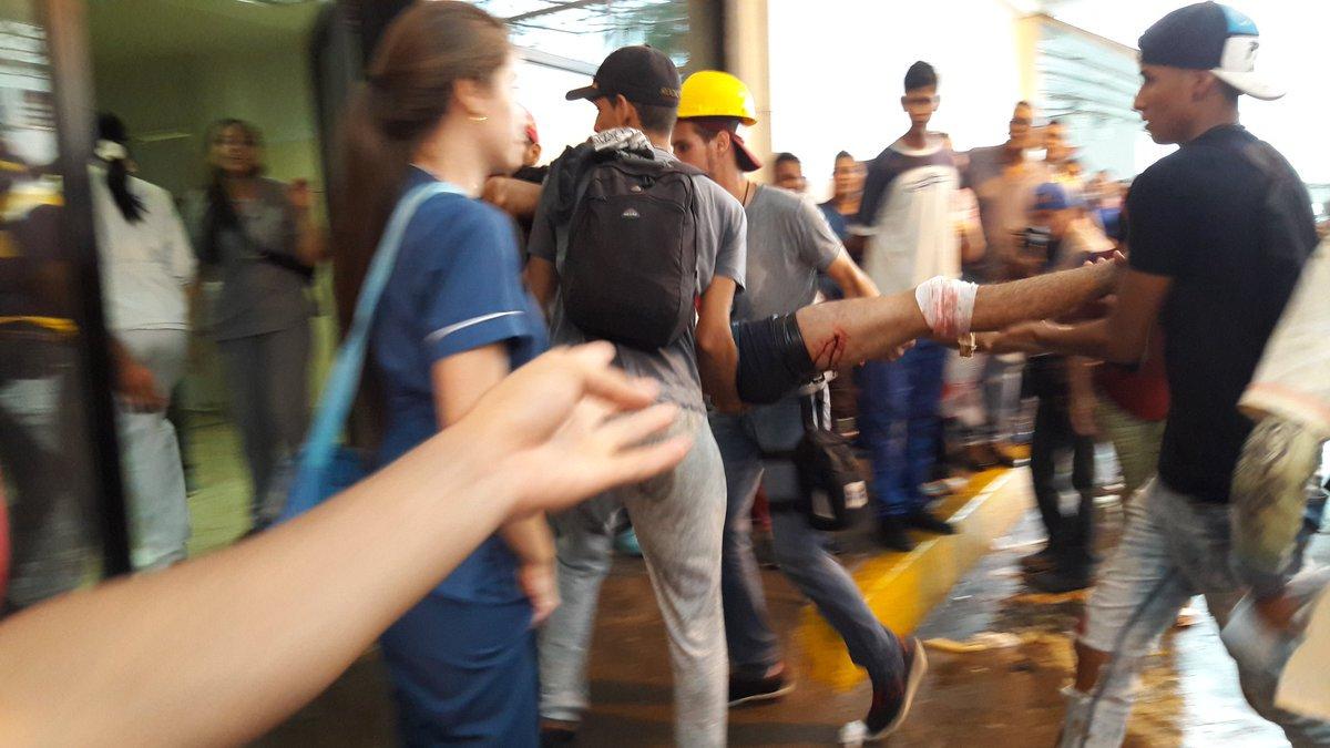 VIDEO Los 15 minutos de horror que vivió la UDO por ataque de PoliBolívar