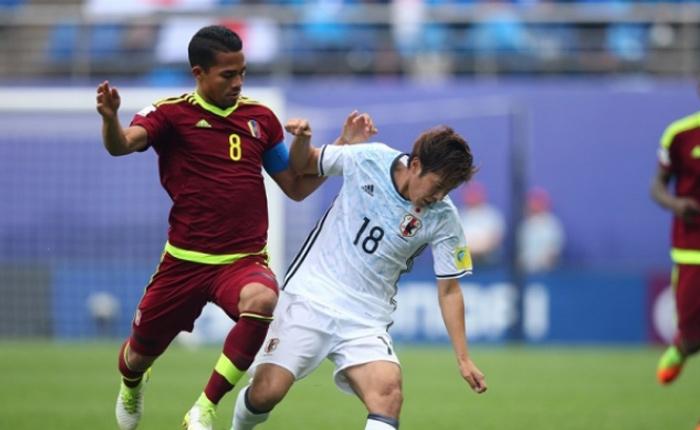 Venezuela logró la victoria ante Japón en tiempo extra con un golazo de Yangel Herrera