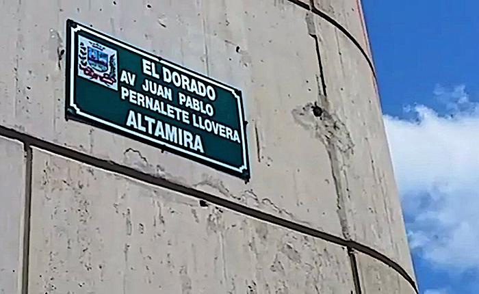 Avenida donde murió Juan Pernalete ahora lleva su nombre