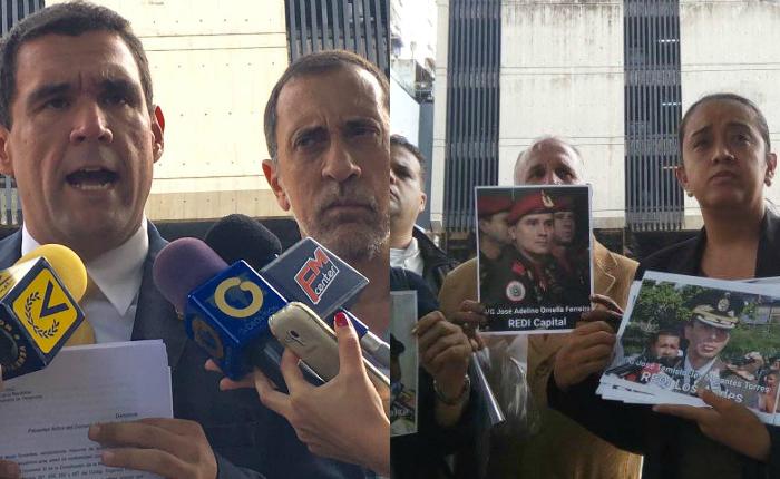 Diputados denunciaron ante el MP a funcionarios del Gobierno por violación de DDHH y falsificación de documentos