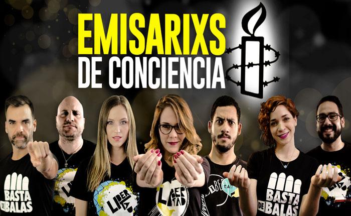 Arte por los DDHH: Amnistía Internacional Venezuela reconoció a personalidades con el lxs Emisarixs de Conciencia