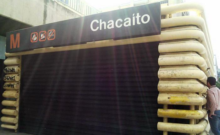 Gerente de Seguridad del Metro retuvo a periodistas en estación de Chacaíto