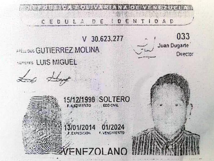 Luis Miguel Gutierrez Molina