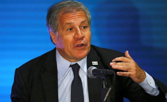 Almagro considera sanciones a Venezuela como mecanismo para forzar negociaciones