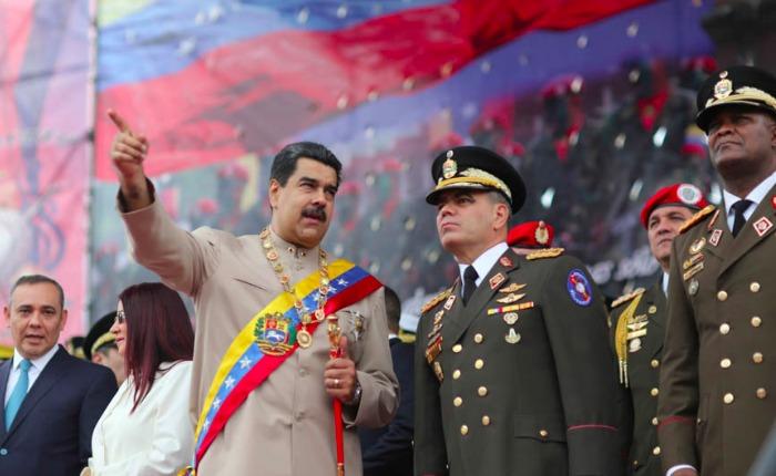 "VIDEO Maduro aseguró que militar venezolano ""traidor"" trabaja para la CIA"
