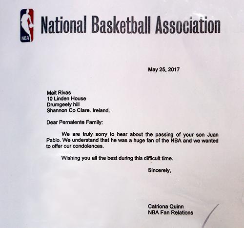 NBA Juan Pernalete