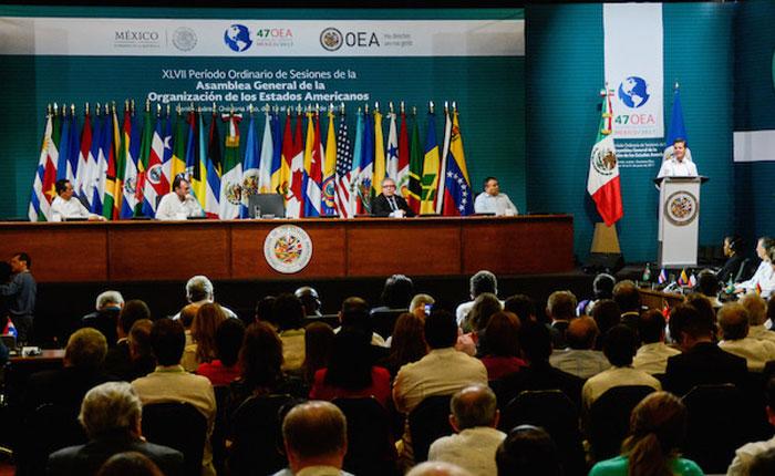Asamblea General de la OEA busca concluir con acuerdo sobre Venezuela