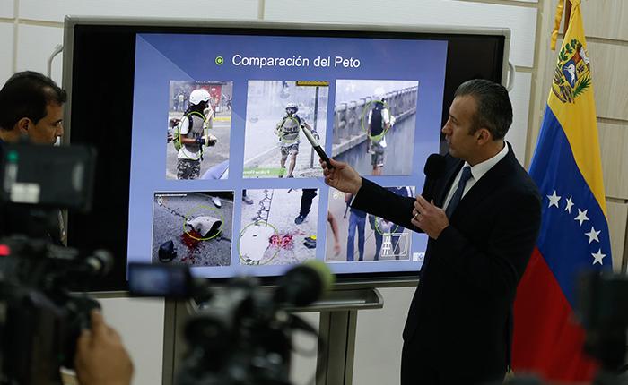 Vicepresidente asegura tener seis testigos que confirman muerte de Lander por explosivo artesanal