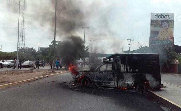 Estudiante murió tras ser arrollado por camión en el marco de una protesta en Maracaibo