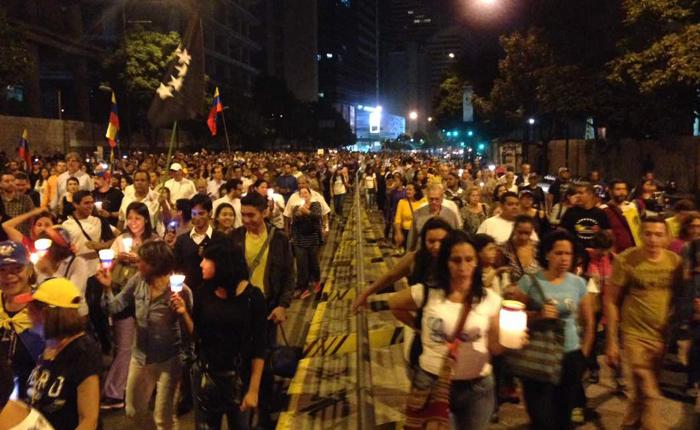 MUD convoca a marchar hoy en Caracas, Mérida y San Cristóbal en honor a fallecidos durante protestas