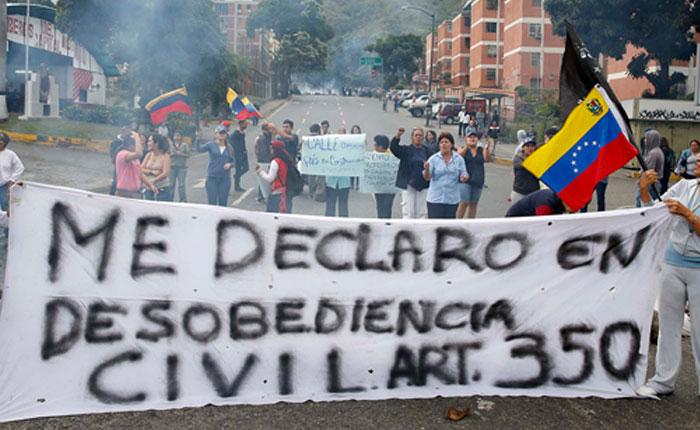 Estado de terror y desobediencia civil, por Carlos Nieto Palma