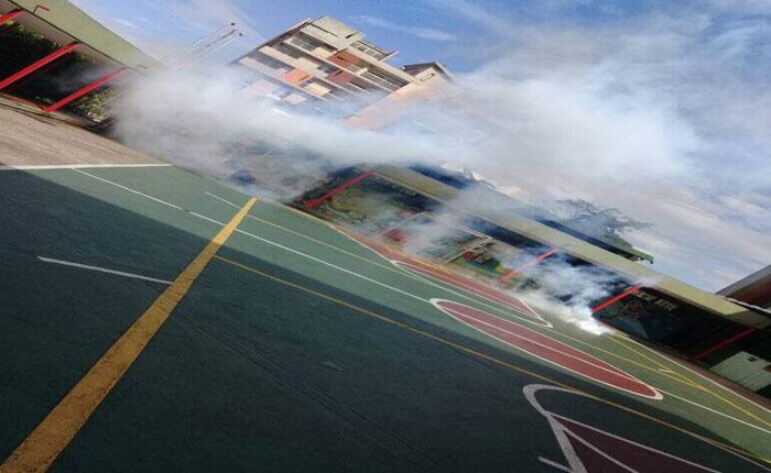 Escuelas en Táchira y Mérida afectadas por gases lacrimógenos arrojados por la GNB