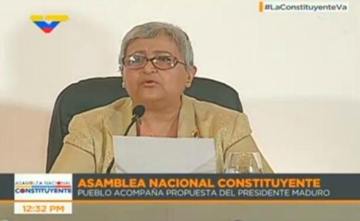 """Tibisay Lucena: """"99% de la población y más han salido a votar"""" #30Jul"""