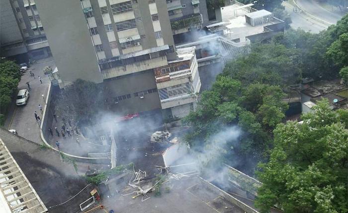 Destrozos y detenciones deja allanamiento ilegal a Residencias Victoria y Alto Alegre en el Paraíso