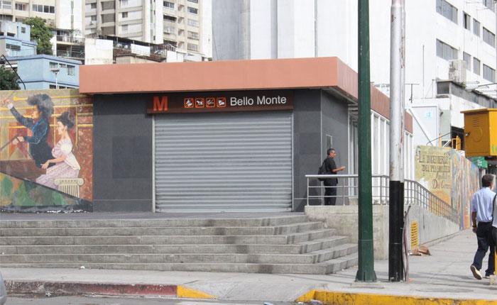Metro de Caracas cerró 4 estaciones este jueves #6Jul