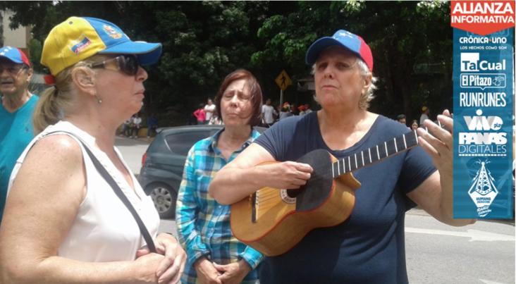 Vecinos del oeste de Caracas y Guarenas votaron en Baruta en la consulta popular