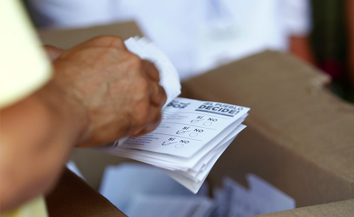 Red de Observación Electoral: Consulta Popular es un triunfo ciudadano