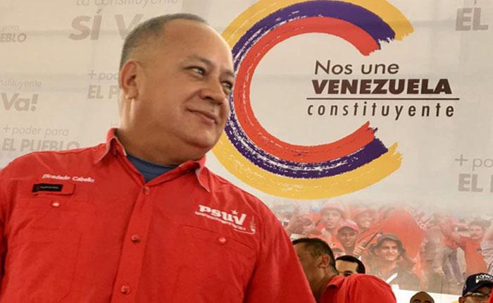 Diosdado Cabello afirmó que el diálogo con la oposición es iniciativa de Maduro
