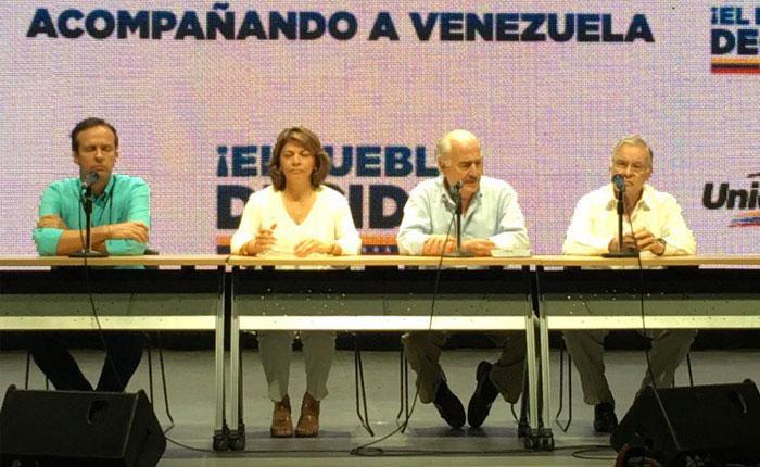 Expresidentes instan a comunidad internacional reconocer legitimidad de consulta popular